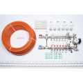 6 Port x 400M + Single Setting Electrical Controls + Mixer System
