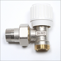 Angle Regulating Valve. For connecting Pex-Al-Pex pipe to radiators