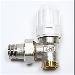 Thermostatic Radiator Valve. For connecting Pex-Al-Pex pipe to radiators